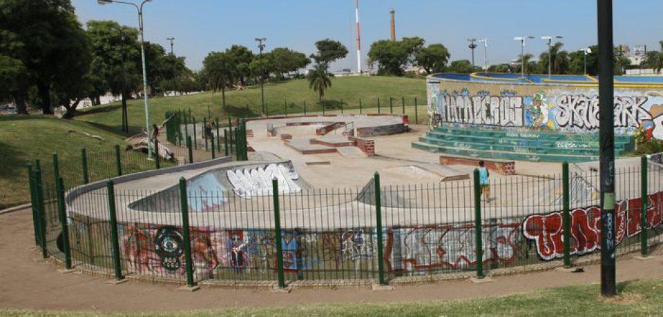 La ciudad de skate