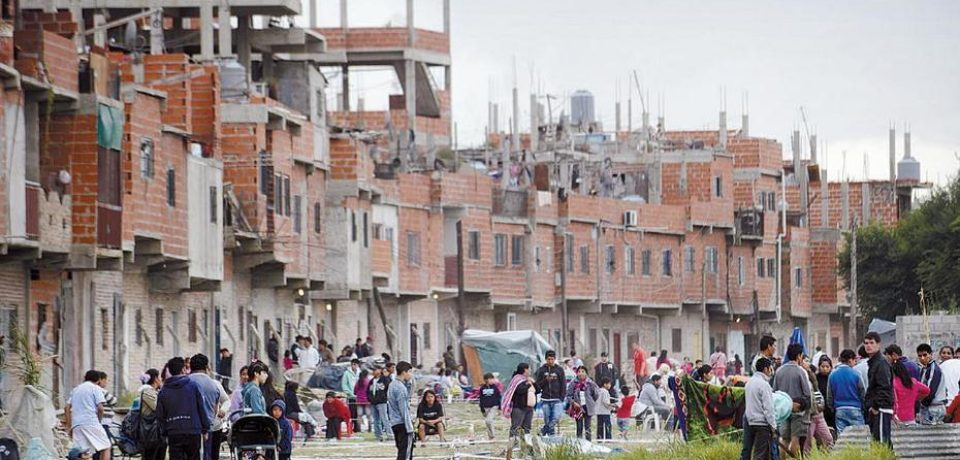 Irregularidades en la urbanización de la Villa 20