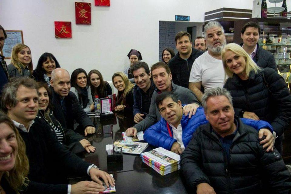 Larreta prometió terminar con la venta ilegal en Liniers