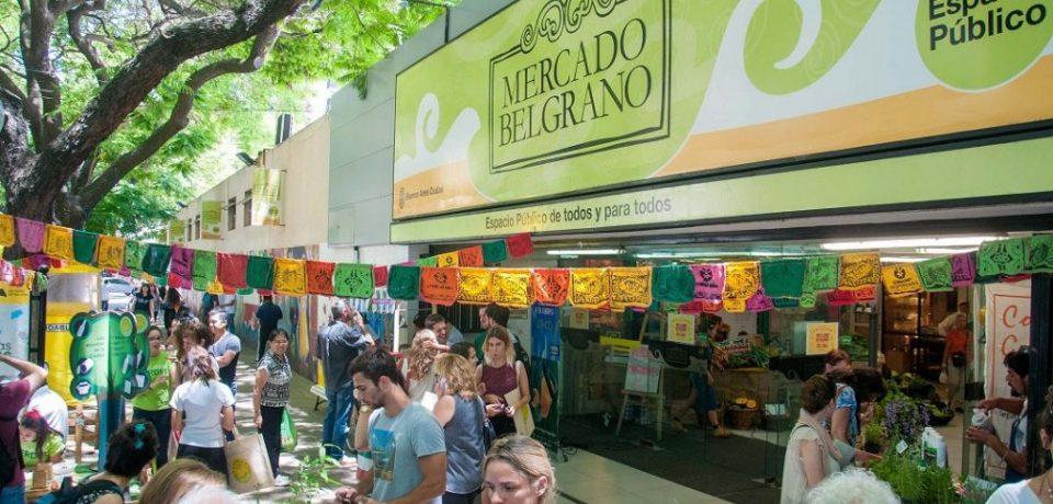 Reinagurán el Mercado de Belgrano