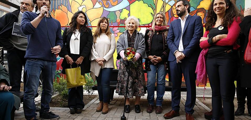 "Inauguran el mural ""La identidad"""
