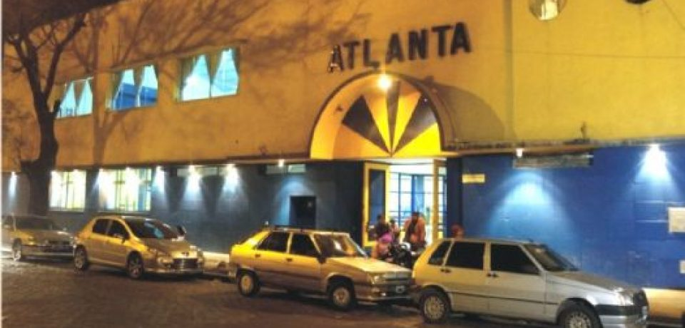 Atlanta cerca del microestadio
