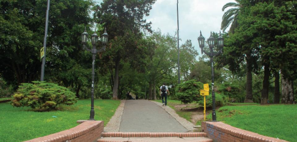 No a la tala de los árboles del Parque Las Heras
