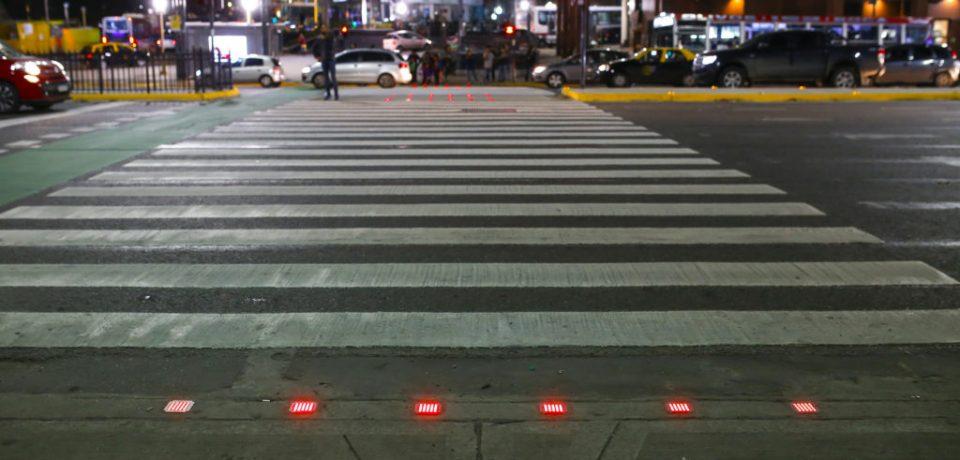 Tachas luminosas en la Ciudad