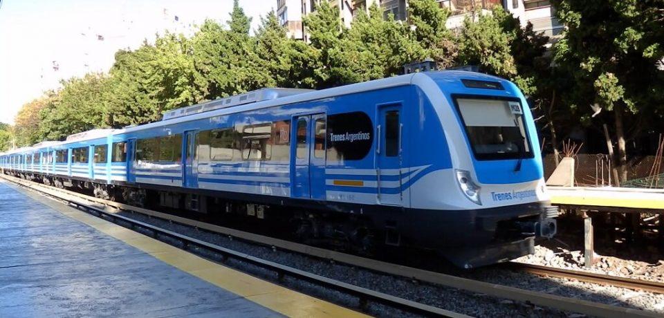 Obras en el tren Mitre
