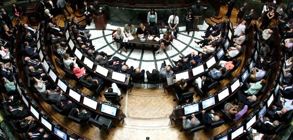 Sesión especial en la Legislatura