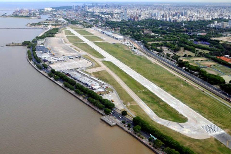 Ganarán terrenos al río para extender aeroparque