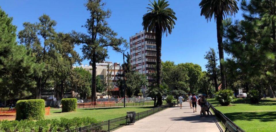Presentaron las obras en la plaza Arenales