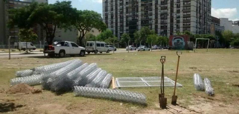 Piden más espacios verdes en La Boca
