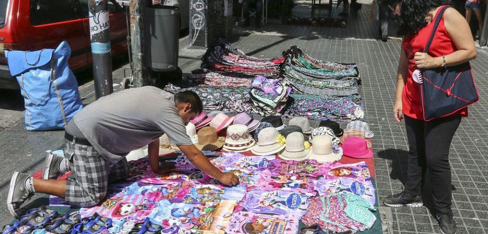 Cae la venta callejera