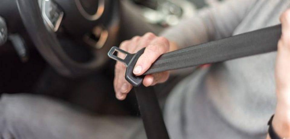 Los porteños usan menos el cinturón de seguridad