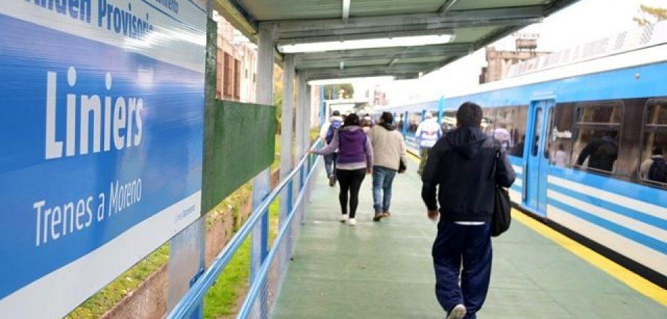 Estación de Liniers: pedido de informes por el soterramiento del Sarmiento