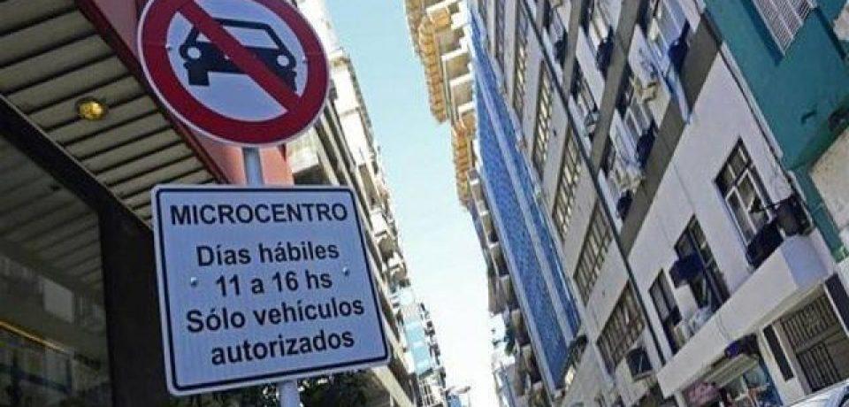 Comienza a regir las restricciones para autos en el micro y macrocentro porteño