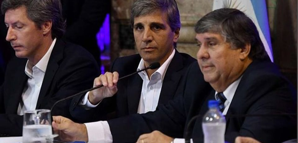 Luis Caputo- Comision Bicameral de Control de la Deuda Externa