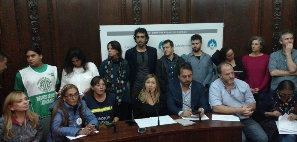 """Ley Basura Cero: Denuncian al Gobierno porteño de """"manipulación mediática"""""""