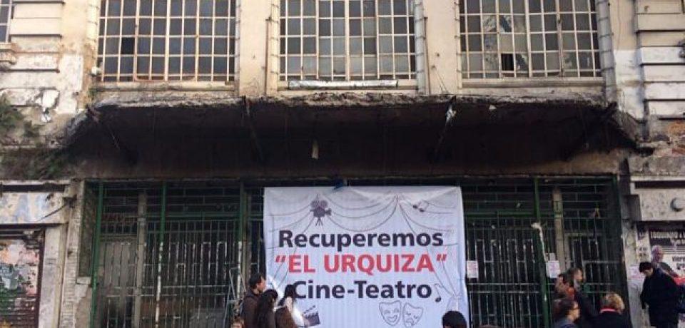 Acuerdo por el Cine Teatro Urquiza
