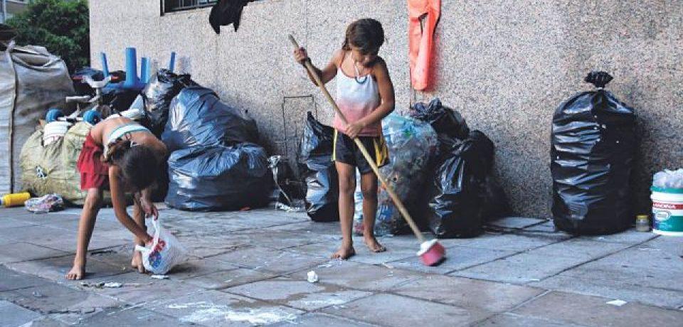 Ciudad de Buenos Aires: preocupación por los niños y niñas en situación de calle