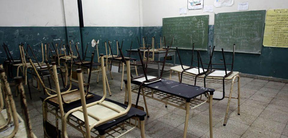 Cinco provincias no arrancan las clases