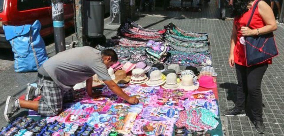 CABA: las ventas callejeras aumentaron 21% durante julio