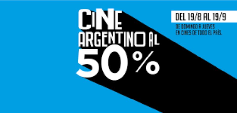 MES DEL CINE ARGENTINO: DE DOMINGO A JUEVES, PELÍCULAS NACIONALES AL 50%