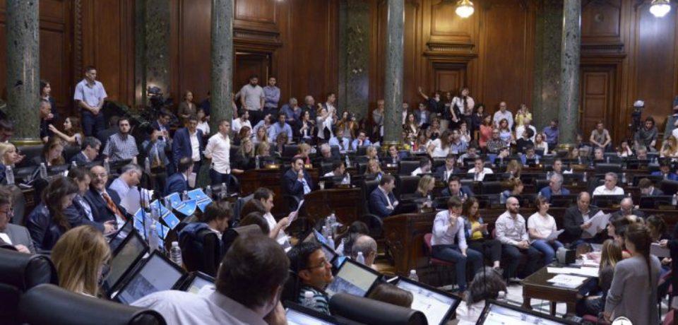 Con el rechazo de la oposición, se aprobó el Presupuesto 2019