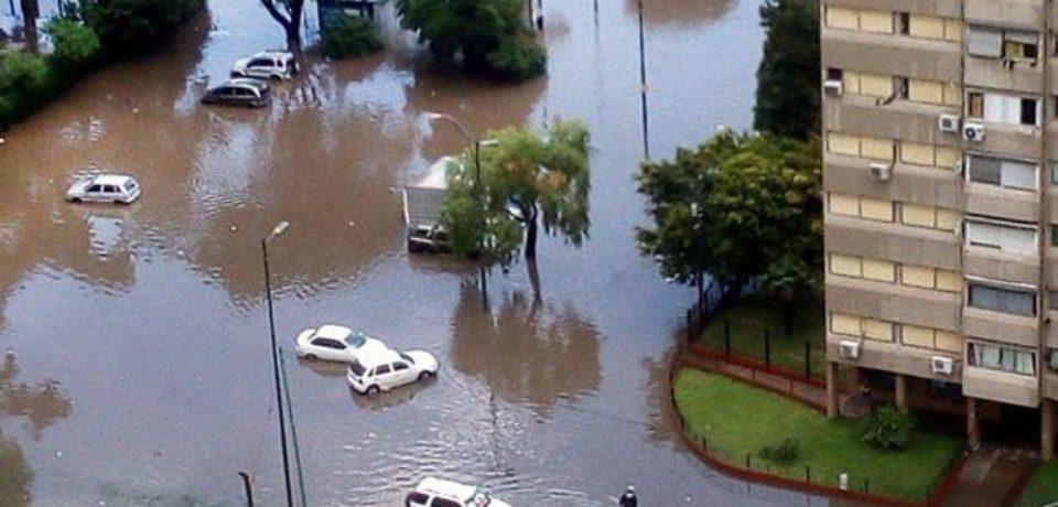 Las lluvias complican a los vecinos de Lugano y Soldati