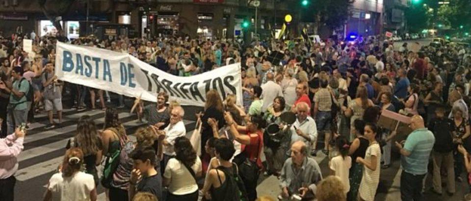 """Tarifas: cuarto """"ruidazo"""" en la Ciudad de Buenos Aires"""