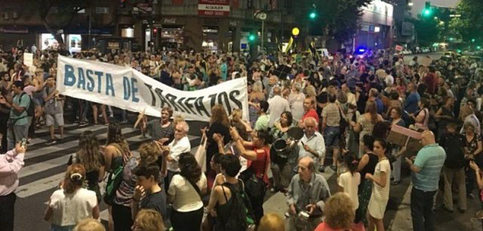 Tarifas: cuarto «ruidazo» en la Ciudad de Buenos Aires