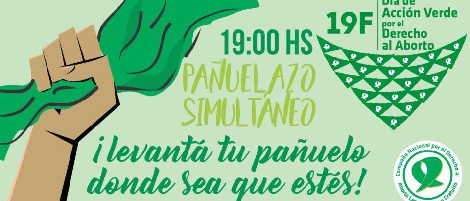 #19F Día de Acción Verde por el Derecho al Aborto