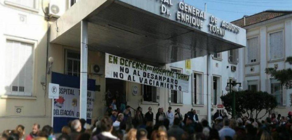 Médicos del Hospital Tornú en alerta: peligra la mitad de los puestos de Guardia