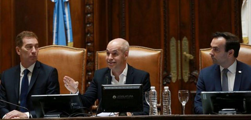 Larreta abrió el año legislativo: «Lo más importante es el futuro de los chicos»