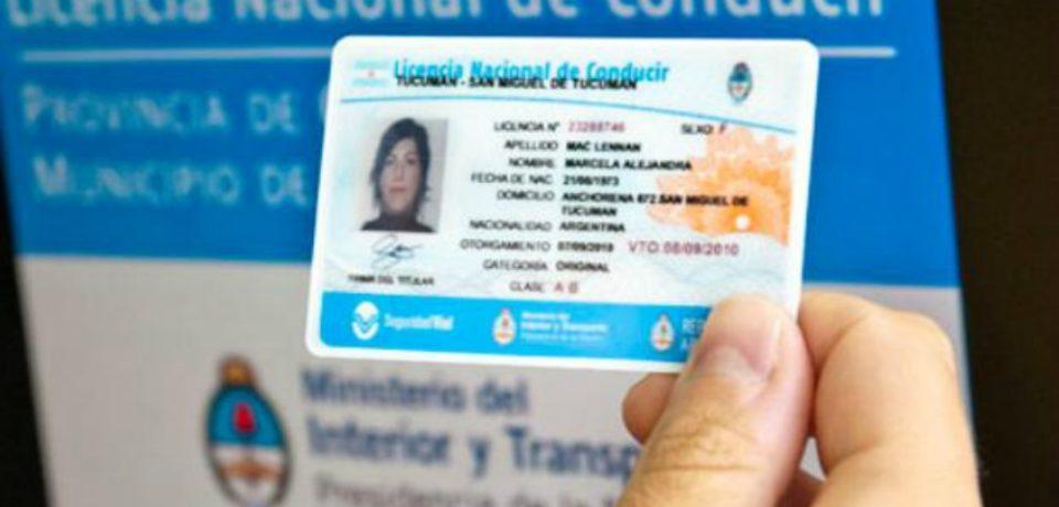 Licencia exprés, trámite sin turno