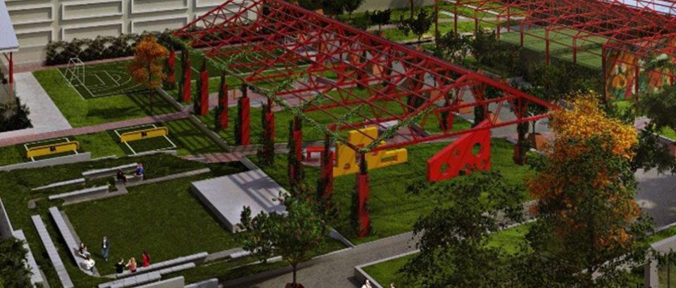 Se inauguró la Plaza del Corralón