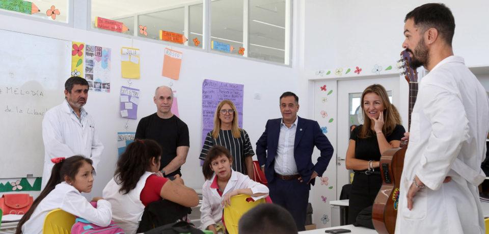 El GCABA abre una nueva escuela en Lugano