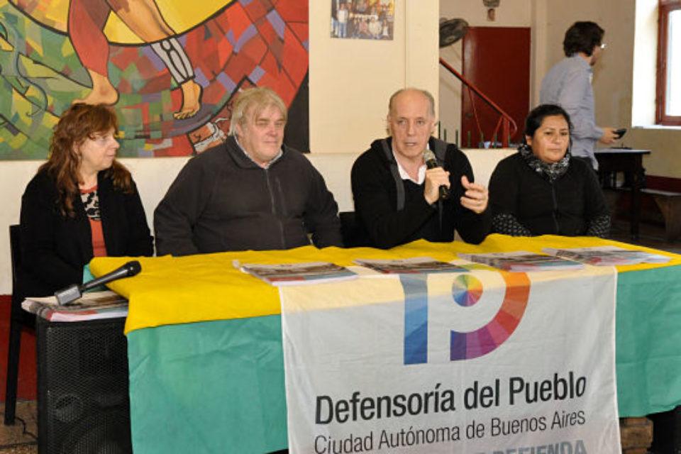 Parque Avellaneda: pone primera la subsede de la Defensoría del Pueblo porteña