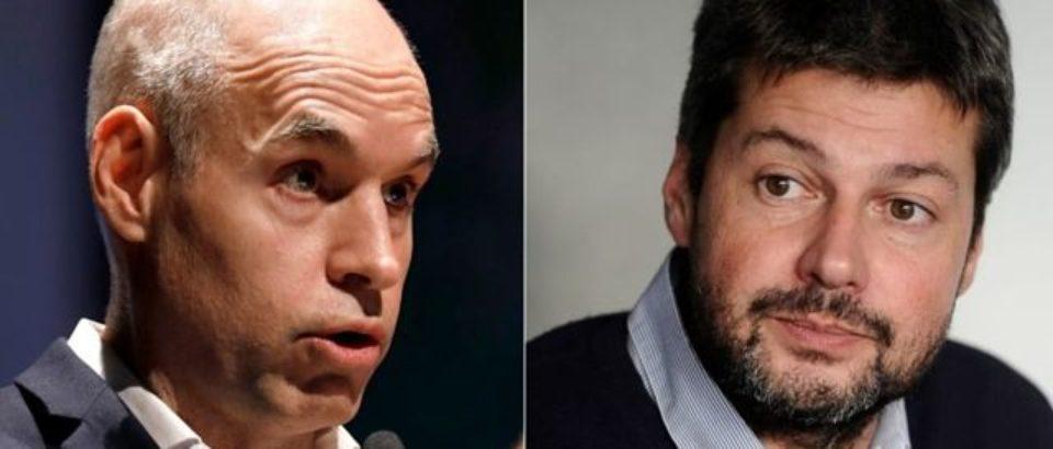 ¿Larreta y Lammens giran la campaña electoral?