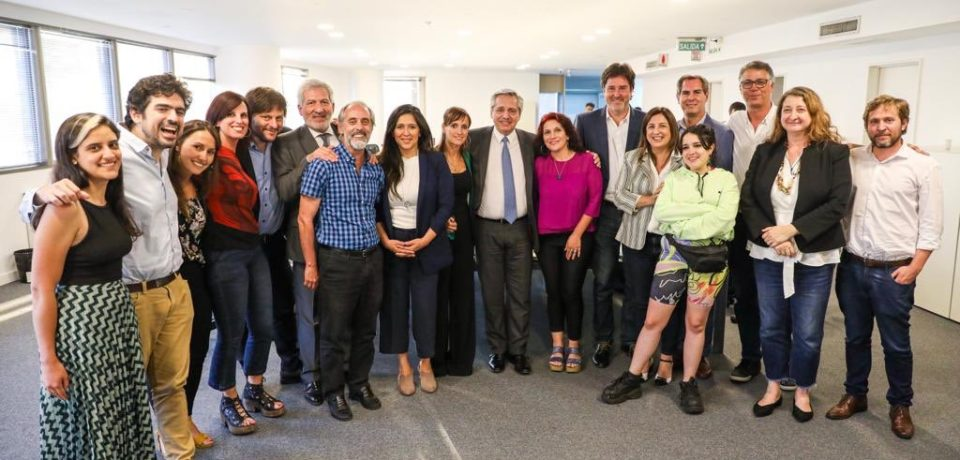 Alberto Fernández consolidó la unidad peronista en la Legislatura