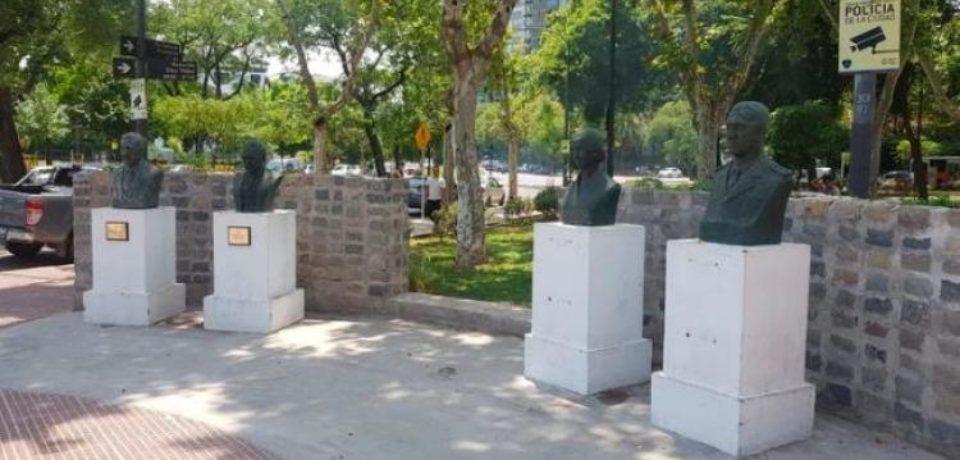 Homenajes a Néstor Kirchner y a Raúl Alfonsín en la Comuna 6