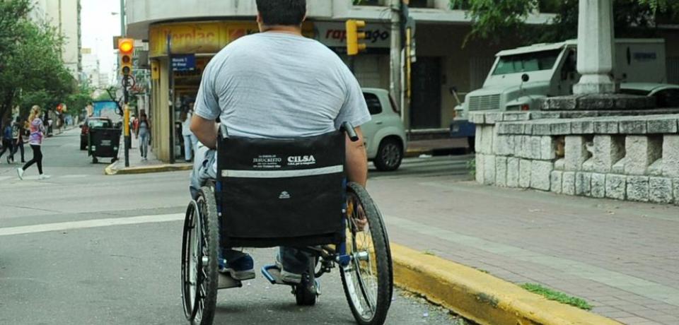 """""""La discapacidad aparece en el espacio mal construido"""""""