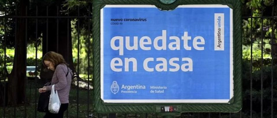 Argentina lamentó otra muerte por coronavirus