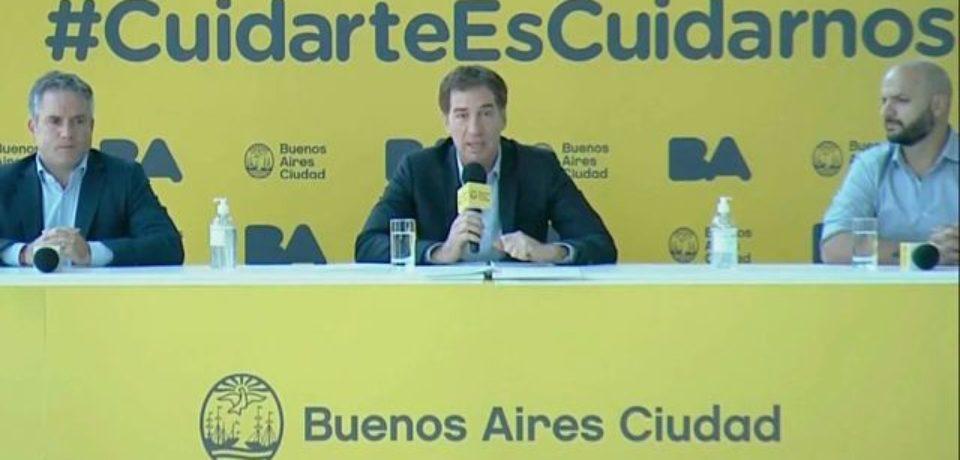 El Gobierno porteño advirtió sobre las consecuencias por no cumplir el aislamiento