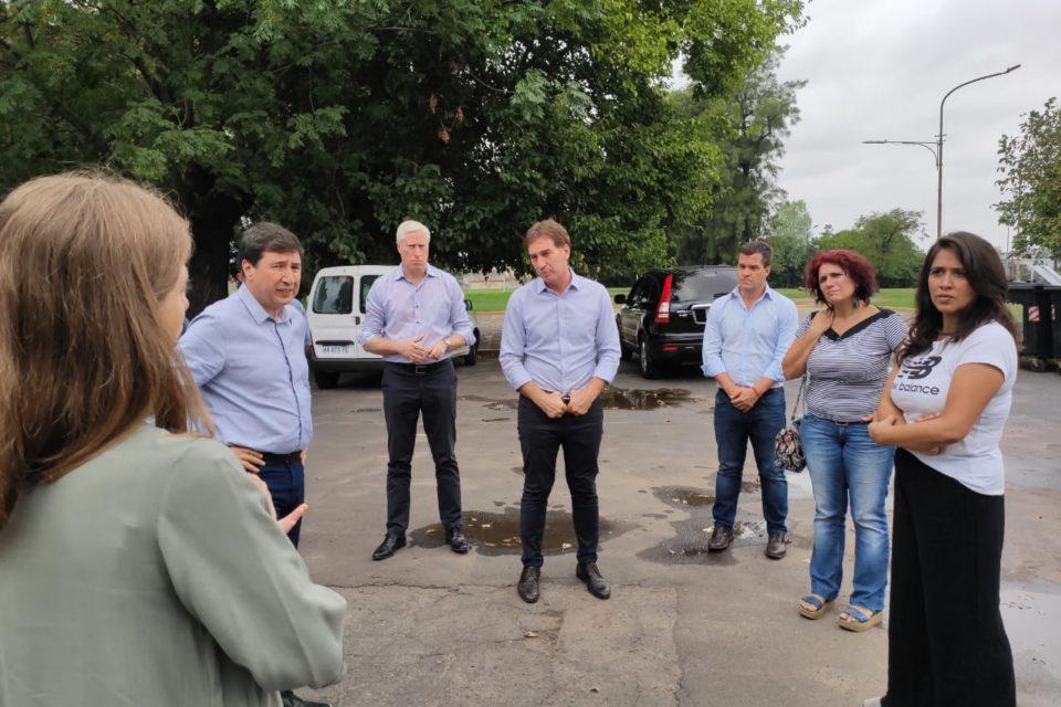 Legisladoras porteñas recorrieron el parador de Parque Avellaneda